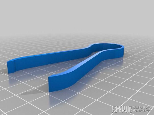镊子/钳子 3D模型  图3