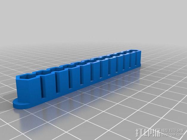钻头夹持器/钻套 3D模型  图6