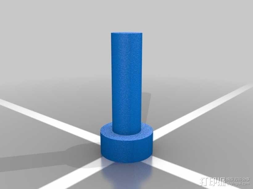 钻孔探测装置 3D模型  图4