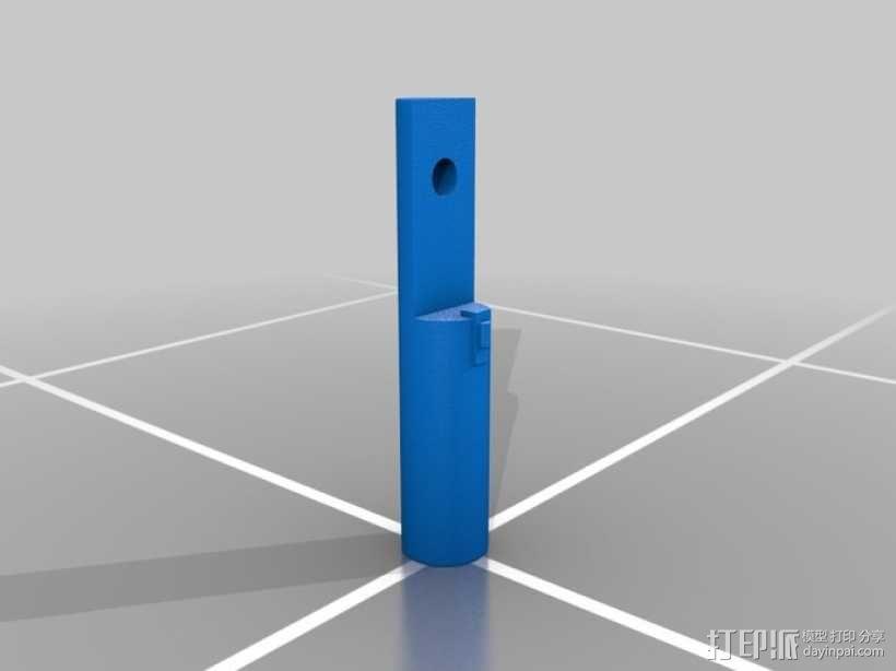 钻孔探测装置 3D模型  图3