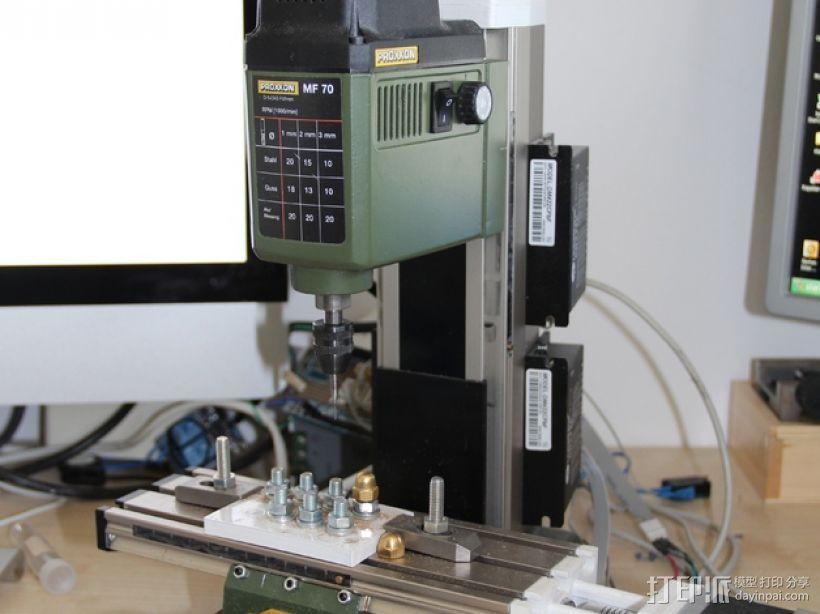 Proxxon MF70驱动支架 3D模型  图1