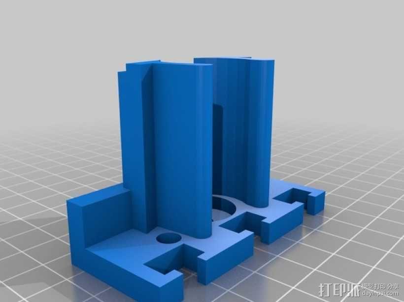 Proxxon MF70驱动支架 3D模型  图5