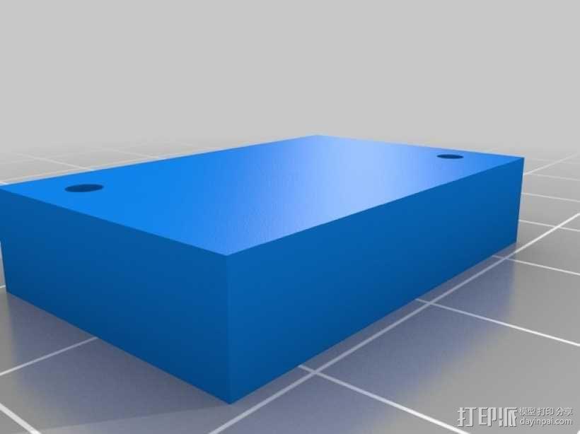 Proxxon MF70驱动支架 3D模型  图7