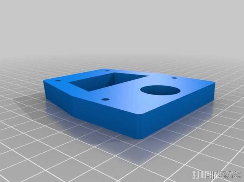Proxxon MF70驱动支架 3D模型  图10
