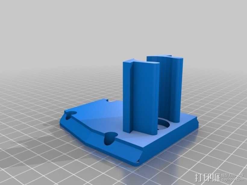 Proxxon MF70驱动支架 3D模型  图9