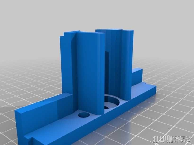Proxxon MF70驱动支架 3D模型  图11