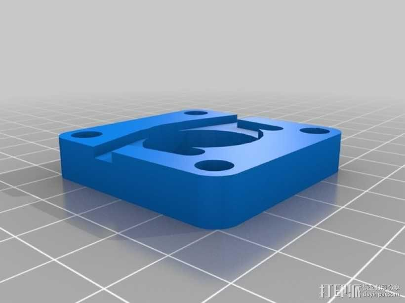 Proxxon MF70驱动支架 3D模型  图12