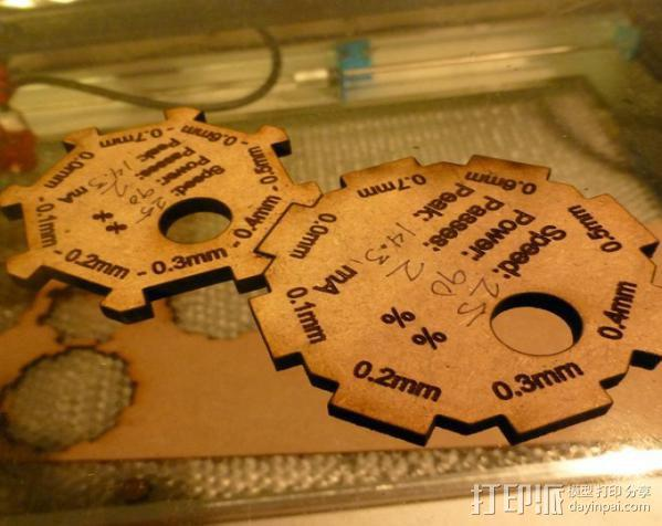 齿轮量规 3D模型  图3