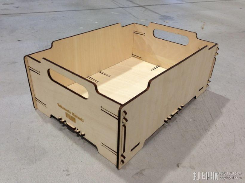 迷你堆叠小盒 3D模型  图1