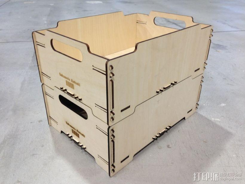 迷你堆叠小盒 3D模型  图2