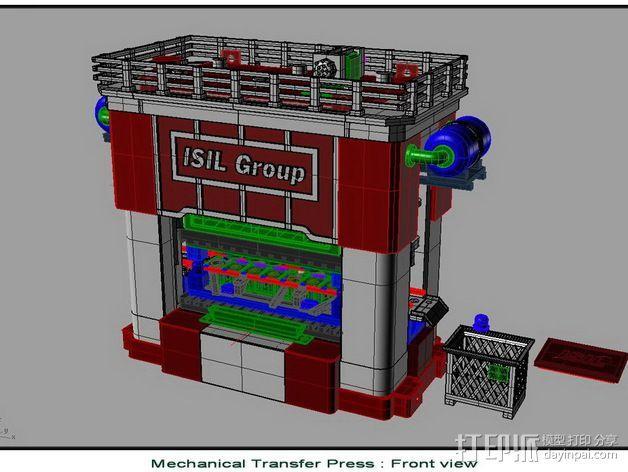 机械多工位压力机 3D模型  图4
