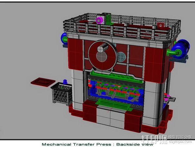 机械多工位压力机 3D模型  图5