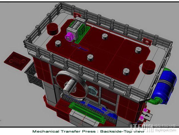 机械多工位压力机 3D模型  图7