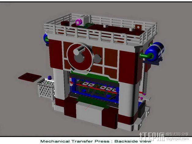 机械多工位压力机 3D模型  图6