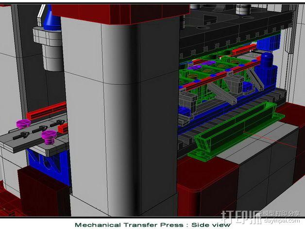 机械多工位压力机 3D模型  图9