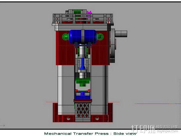 机械多工位压力机 3D模型  图8