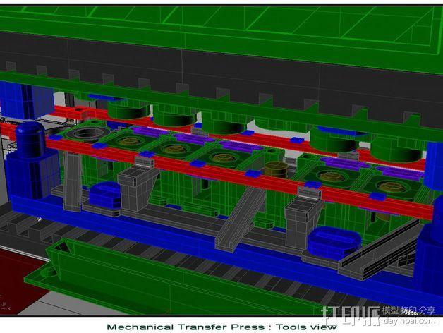 机械多工位压力机 3D模型  图11