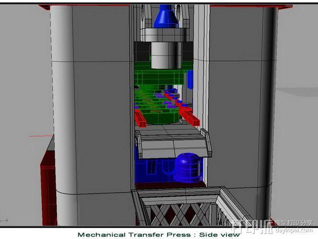 机械多工位压力机 3D模型  图10