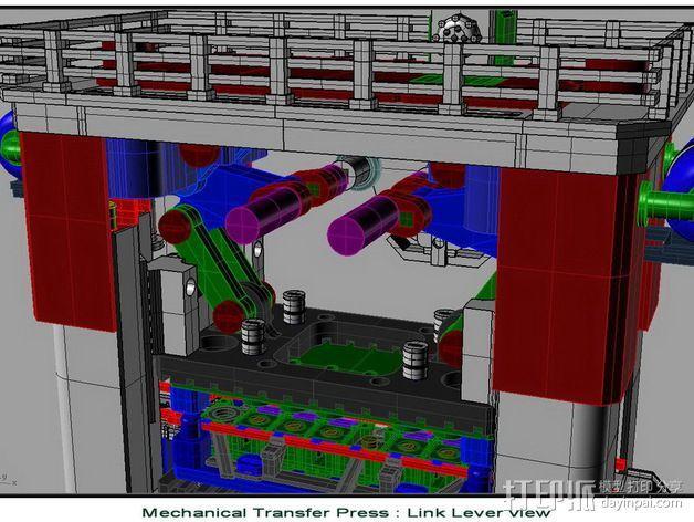 机械多工位压力机 3D模型  图15