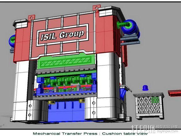 机械多工位压力机 3D模型  图13