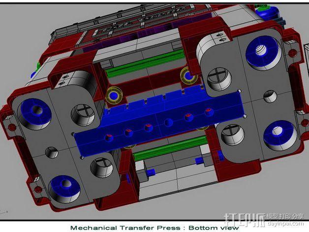 机械多工位压力机 3D模型  图12