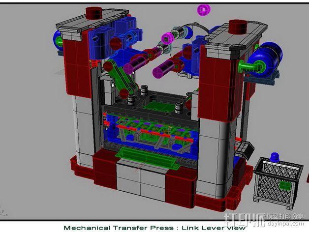 机械多工位压力机 3D模型  图16