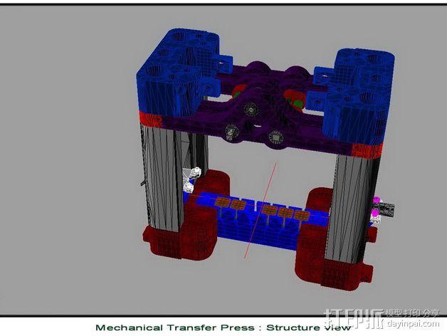 机械多工位压力机 3D模型  图17