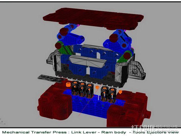 机械多工位压力机 3D模型  图19