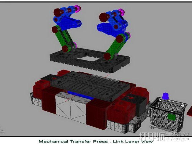 机械多工位压力机 3D模型  图18