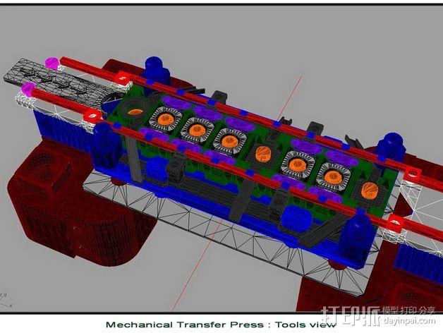 机械多工位压力机 3D模型  图21