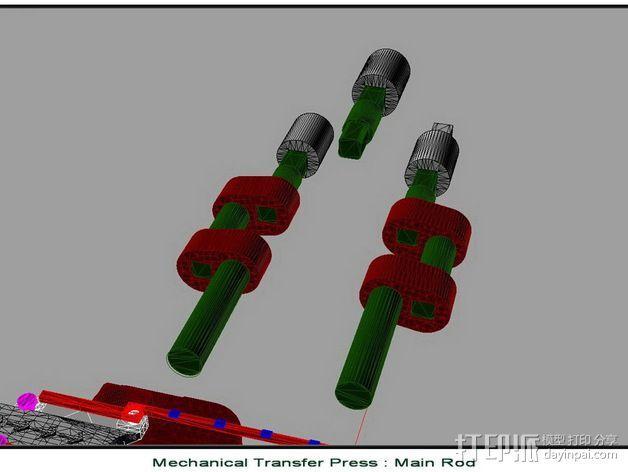 机械多工位压力机 3D模型  图20