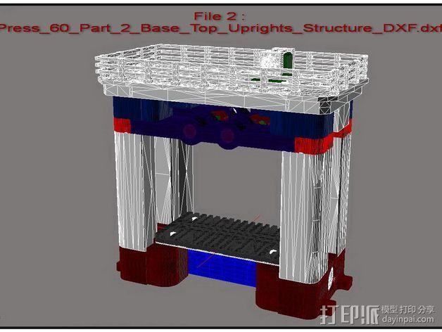 机械多工位压力机 3D模型  图25