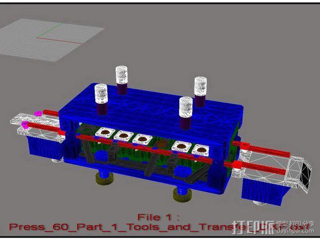 机械多工位压力机 3D模型  图24