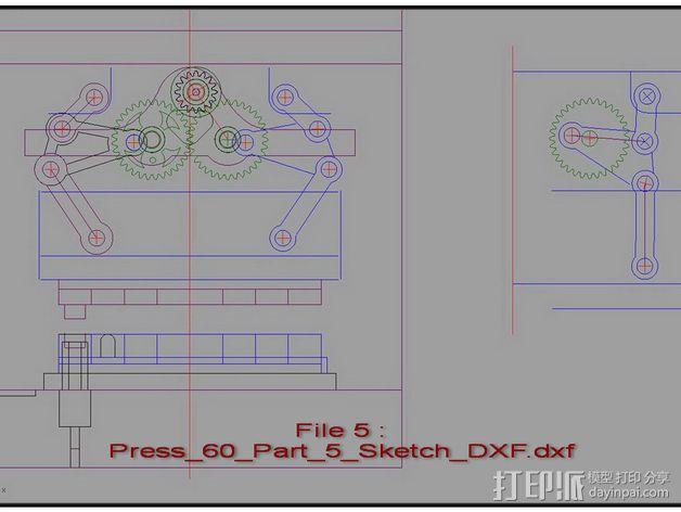 机械多工位压力机 3D模型  图28