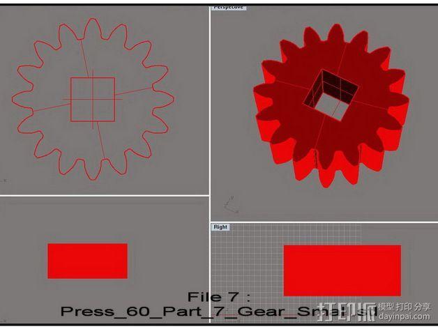 机械多工位压力机 3D模型  图30