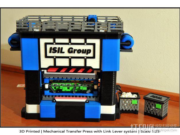 机械多工位压力机 3D模型  图31