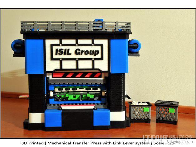 机械多工位压力机 3D模型  图32