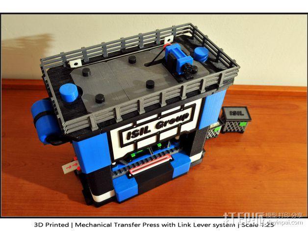机械多工位压力机 3D模型  图34