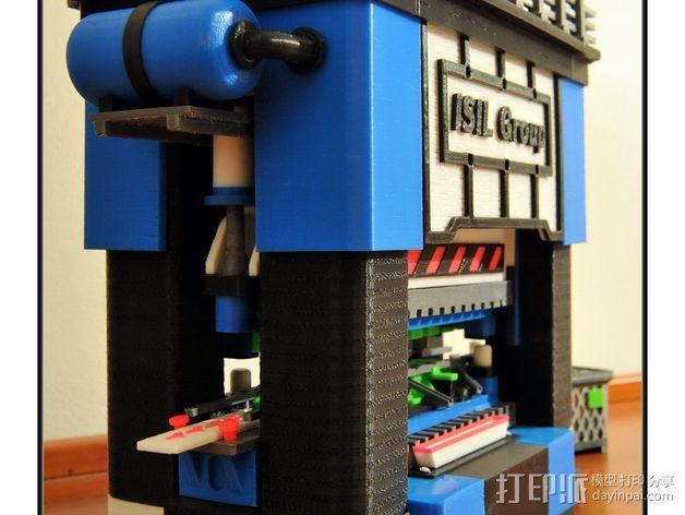 机械多工位压力机 3D模型  图37