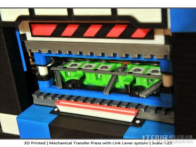 机械多工位压力机 3D模型  图41