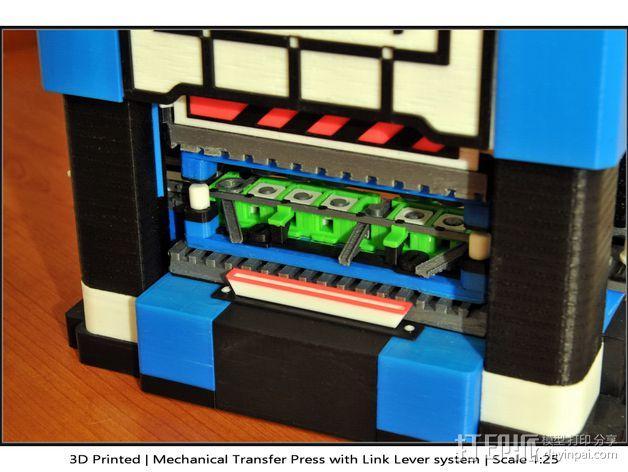机械多工位压力机 3D模型  图40