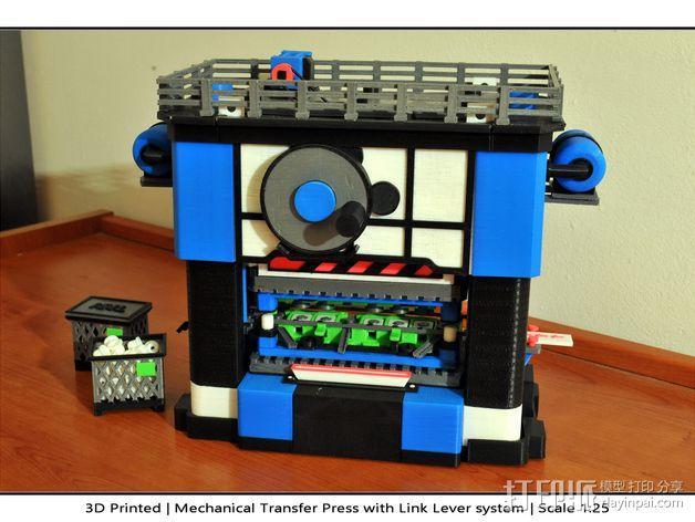 机械多工位压力机 3D模型  图44