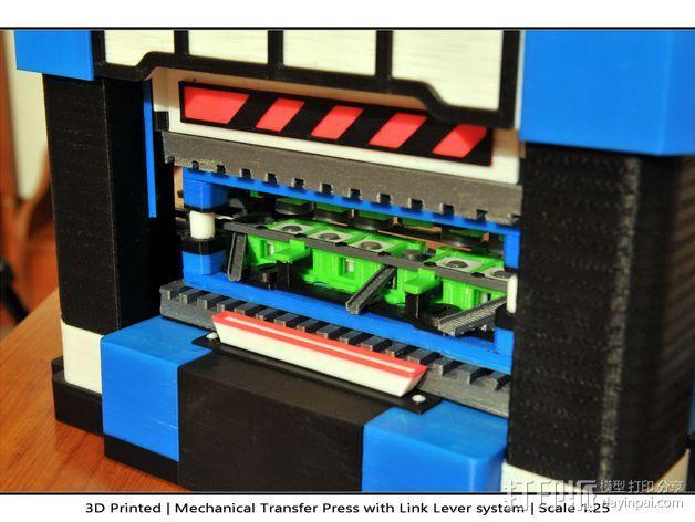 机械多工位压力机 3D模型  图42