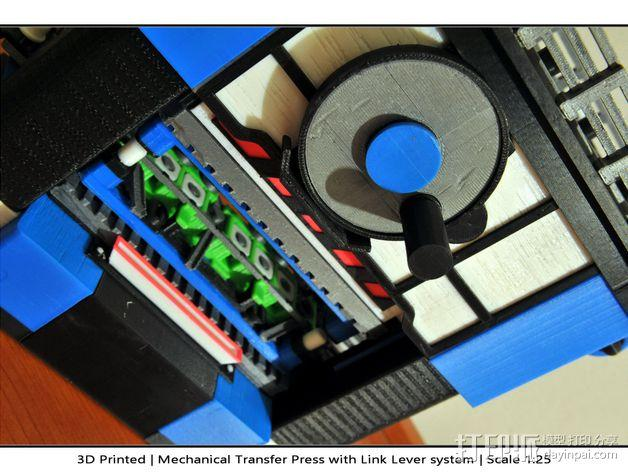 机械多工位压力机 3D模型  图46