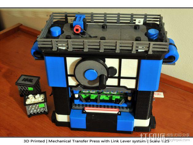 机械多工位压力机 3D模型  图45