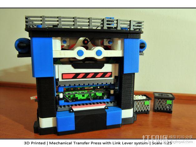 机械多工位压力机 3D模型  图48