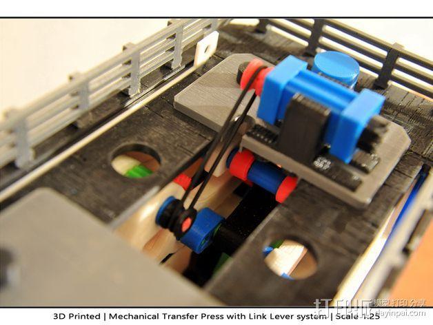 机械多工位压力机 3D模型  图49