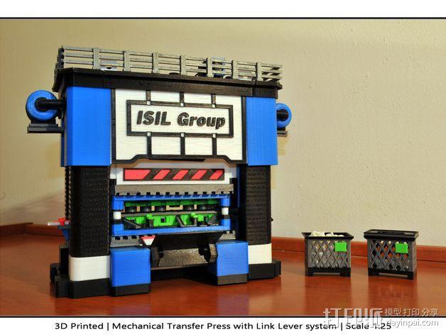 机械多工位压力机 3D模型  图52