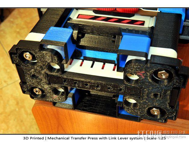 机械多工位压力机 3D模型  图54