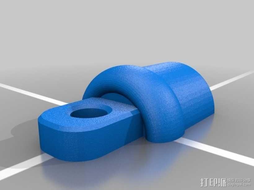 PVC管 塞子 3D模型  图2